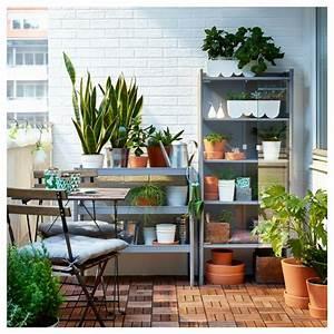 Ikea Gartenmbel Fr Eine Kleine Terrassen Oase