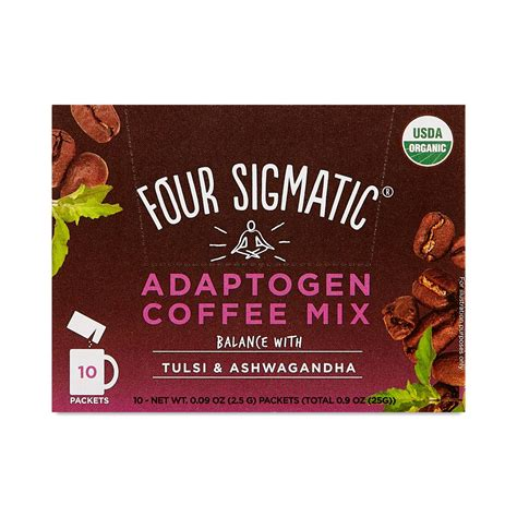 I can honestly say that four sigmatic adaptogens and mushroom blends have been an integral and instrumental component of my success equation. Four Sigmatic Adaptogen Coffee Mix - Thrive Market