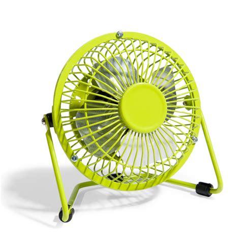 mini ventilateur de bureau mini ventilateur usb vert maisons du monde
