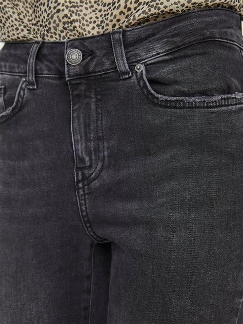 Jean Hanna coupe skinny à taille mi-haute | Gris