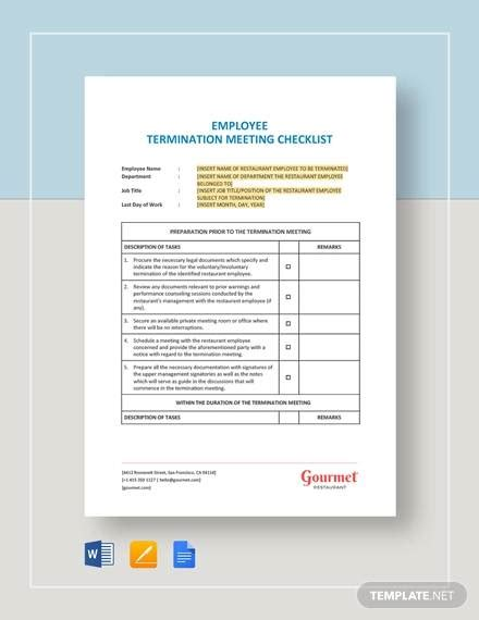 meeting checklist samples templates   ms