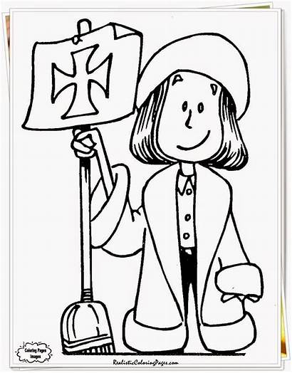 Columbus Coloring Pages Labor Christopher Printable Sheets