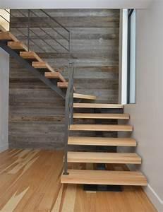 Revetement Escalier Exterieur : revetement escalier en bois ~ Premium-room.com Idées de Décoration