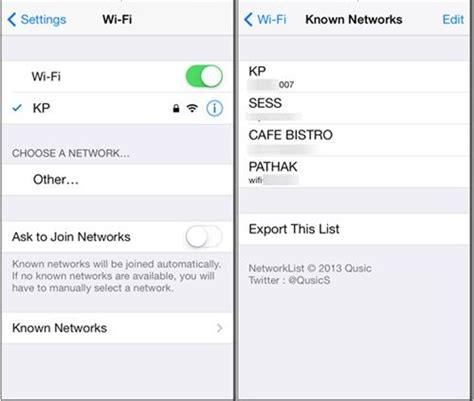 how to see wifi password on iphone how to view saved wifi password in iphone