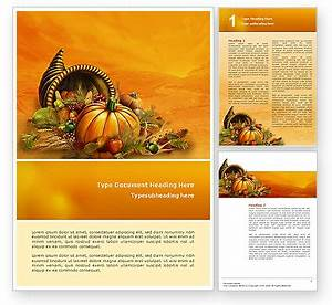 Thanksgiving day word template 02819 poweredtemplatecom for Free thanksgiving templates for word
