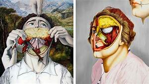 Controversial Paintings Of People Skinned Alive That Will ...