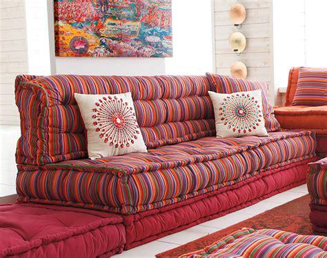 grand coussin pour canap structure canapé lit futon