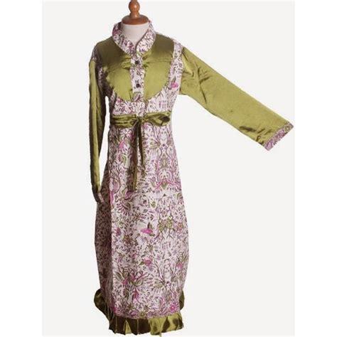 Harga Gamis Merk Annisa baju anak terusan lengan panjang gamis anak motif batik