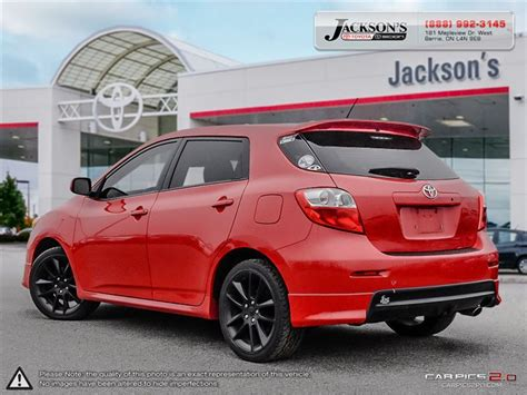 Used Mid Size Cars 10000 by Quot Car 2009 Toyota Matrix 5 Door Xrs Fwd 5m In Barrie On