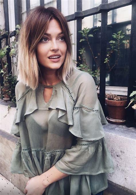 ideen fuer ombre blond frisuren top trends fuer den