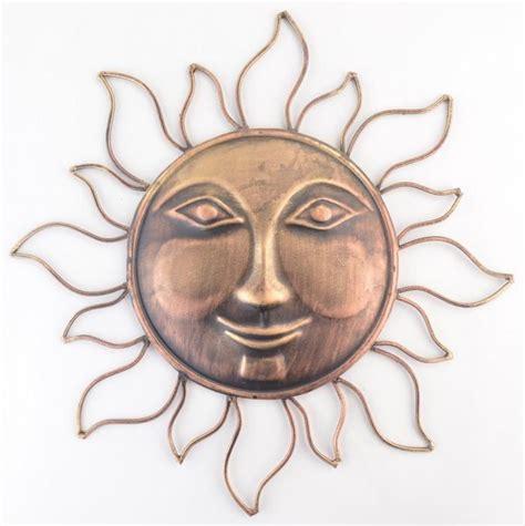 Wall Hanging   Decorative Sun Face, Sun Face Decor   Metal ...