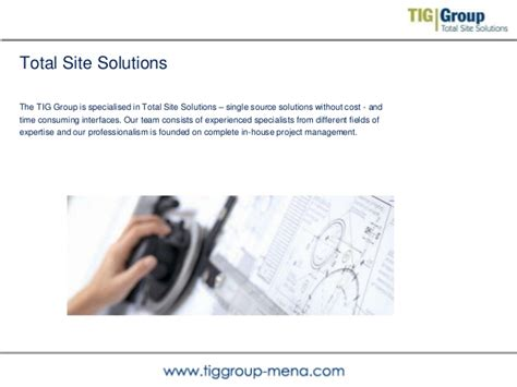 total si e tig total site solutions