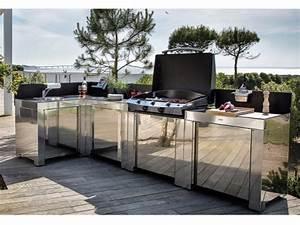 Bar Exterieur Design : cuisine d 39 t 26 cuisines d 39 ext rieur pour s 39 inspirer ~ Melissatoandfro.com Idées de Décoration