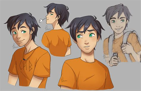 percy jackson fan art percy jackson by vanilladeonna on deviantart