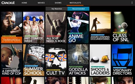 Crackle  Free Tv & Movies  Android Apps On Google Play