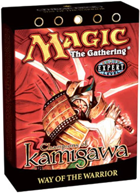 Competitive Samurai Deck Mtg by Chions Of Kamigawa Theme Deck Way Of The Warrior