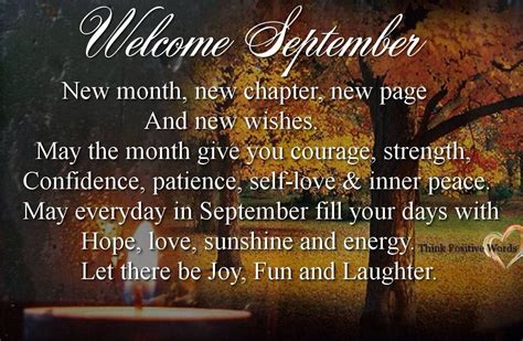 Welcome September Quotes | Qualads