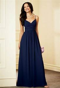 popular long navy blue bridesmaid dresses buy cheap long With navy blue dresses for wedding guest