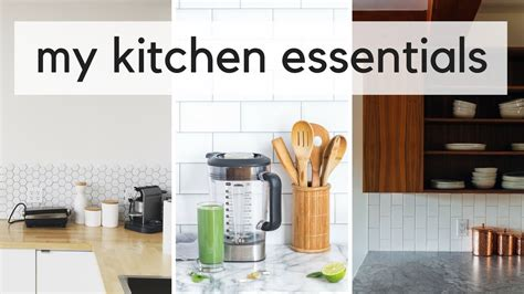 Top 10 Kitchen Essentials  My Minimalist Kitchen