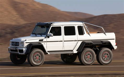 mercedes 6 wheel pickup mercedes benz g63 amg 6 215 6 to cost 600 000 in germany