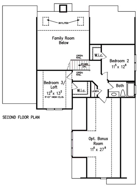 roseglen house floor plan frank betz associates