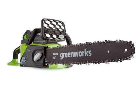 Greenworks G MAX 40V Brushless Chainsaw   Tool Only