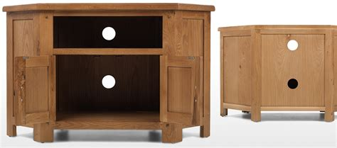 Rustic Oak Corner Tv Cabinet Quercus Living Rustic Oak Corner Tv Cabinet Quercus Living