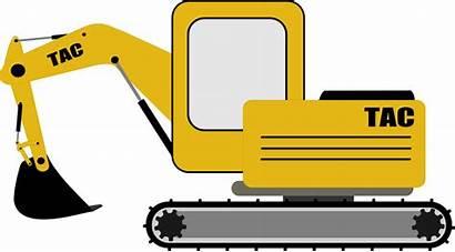Digger Clipart Excavator Bulldozer Clip Cat Transparent