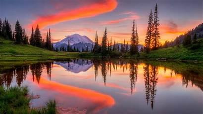 Lake Tipsoo Wallpapers Alpine Rainier Mount National