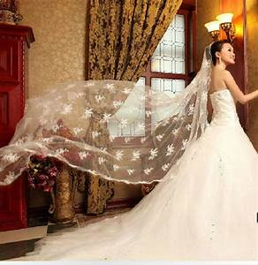1t new cathedral wedding supplies wedding dress With wedding dress accessories