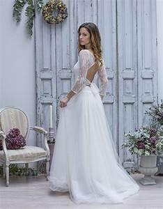 robe de mariee dentelle et tulle marie laporte robe de With pinterest robe mariage