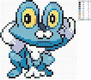 Pokemon Fennekin Pixel Art Grid Images | Pokemon Images
