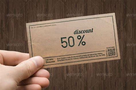 coupon templates psd ai indesign word design
