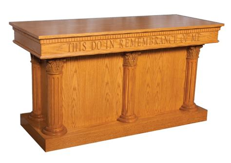 All 8500 Series Communion Tables By Trinity Options