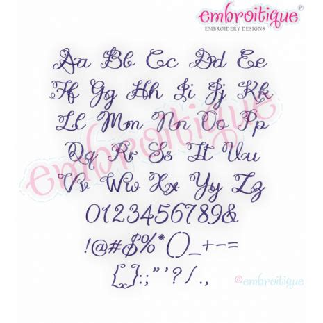 alphabets embroidery fonts lucy monogram font