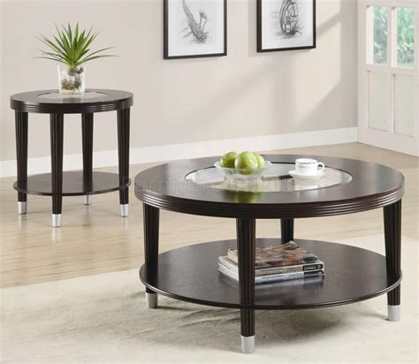 Metal trims and legs of this coffee table are finished in a burnished gold while the wooden top is finished in a warm walnut brown. 10 Best Collection of Very Best Modern Coffee And End ...