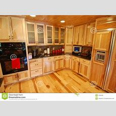 Log House Kitchen Interior Stock Image Image Of Kitchen