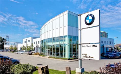 bmw dealership cars auto west bmw awarded most sustainable dealership