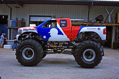 monster trucks videos truck mlb bigfoot monster truck as chevrolet pictures and