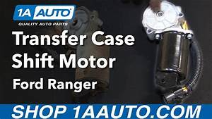 How To Install Replace Transfer Case Shift Motor 2001 Ford