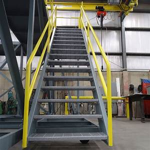 Fabricated Metal Stairs
