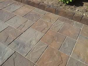 Pavers  Flagstone  Cement