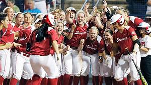 2013 Women's College World Series -- Oklahoma Sooners ...