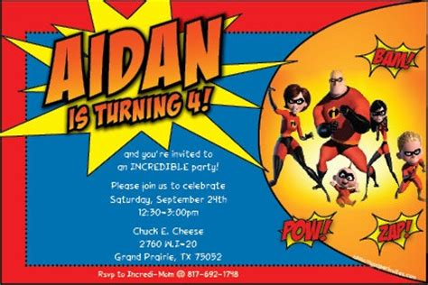 incredibles birthday party images  pinterest
