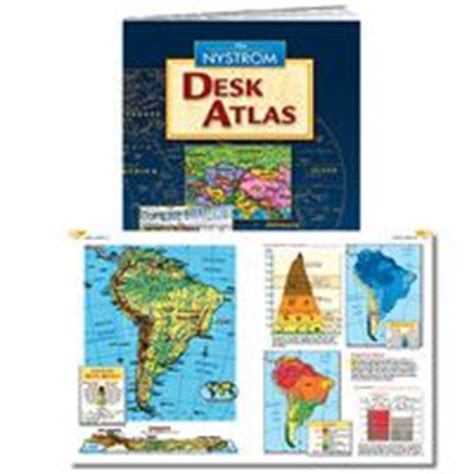 Nystrom Desk Atlas by 1000 Images About Atlases On Maps Library