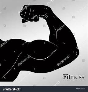 Cartoon Biceps (Man'S Arm Muscles) Stock Vector ...