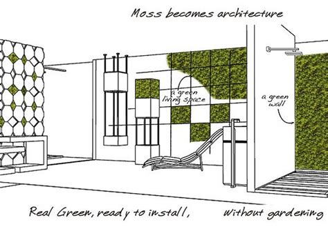 Balcony Cover Design by Create An Interior Vertical Garden With Moss Tiles Urban
