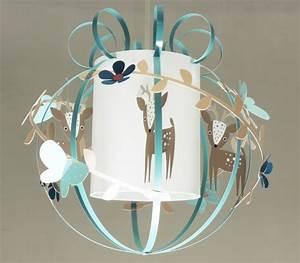 Plafonnier Chambre Adulte : animaux de la foret luminaire chambre enfant lampe ~ Melissatoandfro.com Idées de Décoration