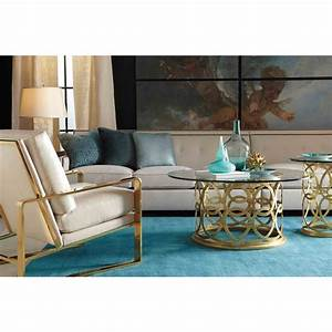 Round Metal Coffee Table Color Med Art Home Design Posters