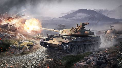 World of Tanks 4K Wallpaper, Picture, Image